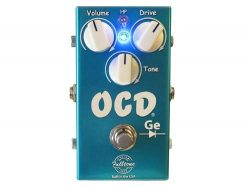 Fulltone CS-OCD-GE Custom Shop Germanium Overdrive Guitar Effect Pedal