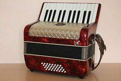 Weltmeister Vintage MM 32 Bass Accordion Akkordeon Fisarmonica + Case