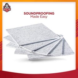 Burton Acoustix Series 9 –  Ultra High Density 200 Kilograms/m3 Soundproofing Panels ̵ ...