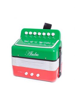 Abubu Kids Accordion, Toy Accordion, Musical Instrument for Children, Early Childhood Instrument ...
