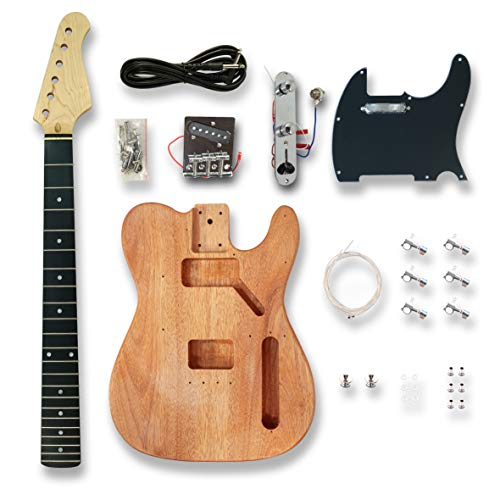 DIY Electric Guitar Kits for TL Style, okoume wood Body
