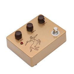 Overdrive Guitar Effect Pedal-Handmade Classic Gold Overdrive Guitar Pedals With Ture Bypass