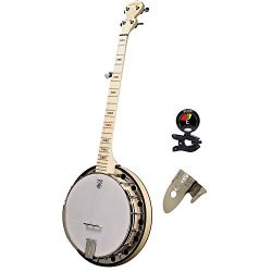 Deering Goodtime Parlor Small 5 Strings Banjo with Blonde Slender Rock Maple Neck – Banjo  ...