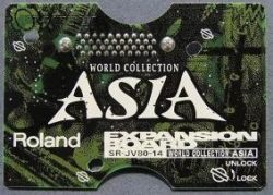 ROLAND Roland SR-JV80-14 SR JV 14 World Collection Asia expansion board sound module
