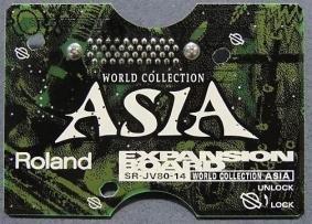 ROLAND Roland SR-JV80-14 SR JV 14 World Collection Asia expansion board sound module