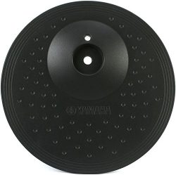 """Yamaha PCY100 10″ 3-Zone """"choke-able"""" Electronic Cymbal Pad, Black"""