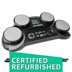 Alesis Compact Kit 4 | Portable Electronic Drum Kit with 70 Drum Sounds, Coaching Feature, Game  ...