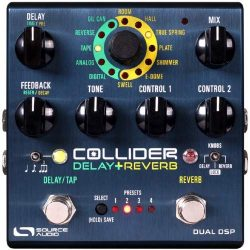 Source Audio SA263 The Collider Stereo Delay+Reverb Effects Pedal