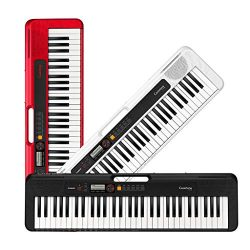 Casio Casiotone, 61-Key Portable Keyboard (CT-S200BK)