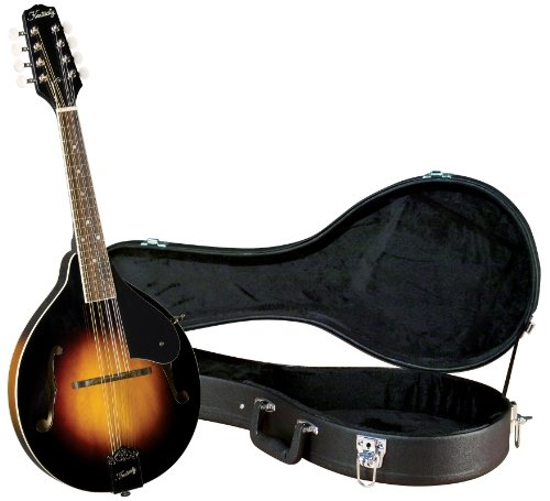 Kentucky KM-150 Standard A-model Mandolin with Deluxe Case – Sunburst