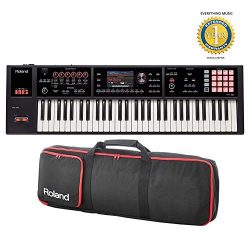 Roland FA-06 61 Workstation Keyboard with Gigbag RAM-4879 Bundle with 1 Year Everything Music Ex ...