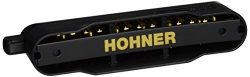 Hohner 7545T-C Cx-12 Black (Tenor Tuned) Harmonica, Key of Tenor C