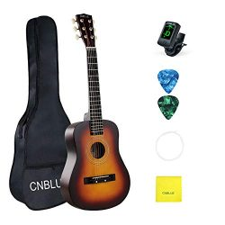 Kid Beginner Guitar Classical Guitar Acoustic Guitar 1/2 Half Size 30 inch Steel Strings