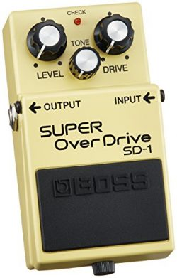 BOSS Super Overdrive Guitar Pedal (SD-1)