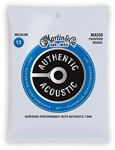 Martin Authentic Acoustic Guitar Strings – Superior Performance