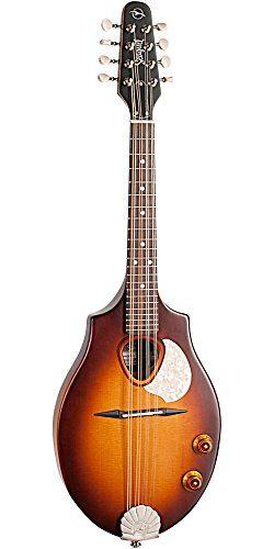 Seagull S8 Mandolin Sunburst EQ, Right Handed, Acoustic-Electric Mandolin (42500)