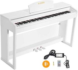 LAGRIMA LG-803 88-Key Beginner Digital Piano with Full-Size Weighted Keys | Muti-functional Pian ...