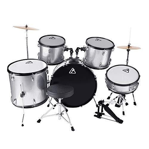 22inch 5 Piece Adults Drum Set, Les Ailes de la Voix Complete Full Size Adults' Drum Set C ...
