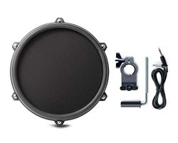 Alesis Nitro 8 Inch SINGLE-ZONE Mesh Tom Pad Expansion Pack- 8″ Drum, Clamp, Cable – ...