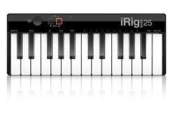 IK Multimedia iRig 25-key Compact Keyboard MIDI Controller for Mac/PC