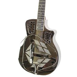 Royall Trifecta Nickel 12 String Cutaway Tricone Resonator