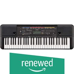 Yamaha PSR-E263 61-Key Portable Keyboard (Renewed)