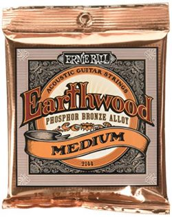 Ernie Ball Earthwood Phosphor Bronze Medium (13-56) Acoustic Guitar Strings (P02144)