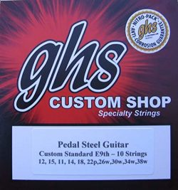 2 Pack – GHS E9th-10 (Standard) Pedal Steel Guitar Strings