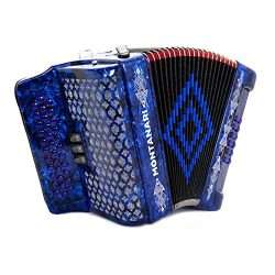 Acordeon Montanari 3412 3S Mi Azul EAD Accordion