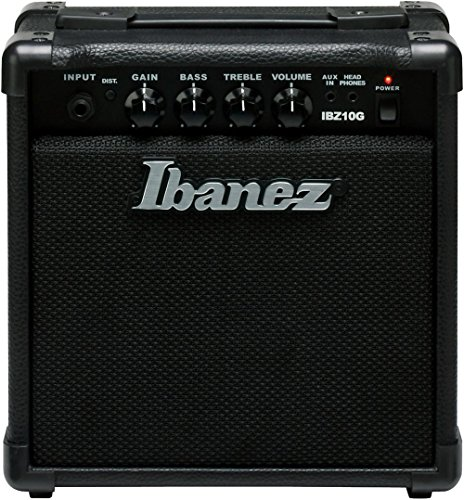 Ibanez, 1 Electric Guitar Mini Amplifier, Black (IBZ10G)