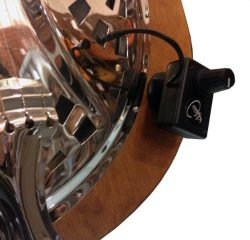 SPIDER DOBRO RESONATOR GUITAR PICKUP with FLEXIBLE MICRO-GOOSE NECK by Myers Pickups