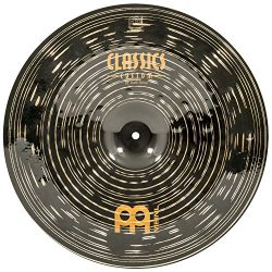 Meinl 18″ China Cymbal – Classics Custom Dark – Made in Germany, 2-YEAR WARRAN ...