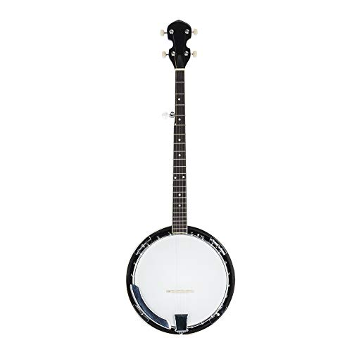 5 String Banjo 24 Bracket with Closed Solid Back and Geared 5th Tuner , Include Allen Wrench, Sc ...
