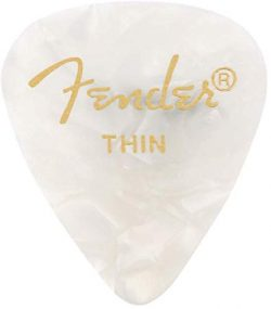 Fender 351 Shape Premium Picks (12 Pack) for electric guitar, acoustic guitar, mandolin, and bas ...