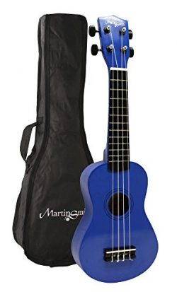 Martin Smith UK-222-BL Soprano Ukulele, Blue