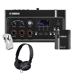 Yamaha EAD10 Electronic Acoustic Drum Module with Yamaha DT-50S Metal Body, Dual-Zone Acoustic S ...