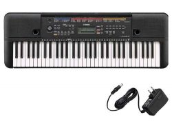 Yamaha PSR-E263 Portable Keyboard with PA130 AC Adapter