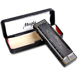 Mugig Harmonica, C Key Harmonica for Beginners or Kids, 10 Holes 20 Tones, 1.2mm Plate Structure ...