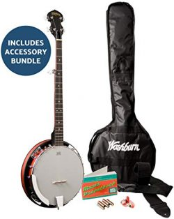 Washburn Americana B8-Pack with Gig Bag, Banjo