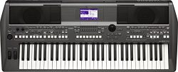 YAMAHA PORTATONE digital electronic keyboard piano PSR-S670 61 keys PSRS670 Black