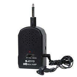 JA-01 Wireless Guitar Amplifier Mini Amp with Earbuds