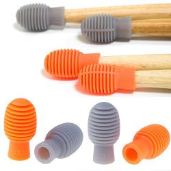 6 Pieces Drum Silent Tips Drum Dampener Silicone Drumstick Drum Practice Silent Accessories Mute ...
