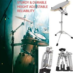 26″ Sturdy & Extended Height Snare Drum Stand, Tall Adjustable Height Snare Stand, Con ...