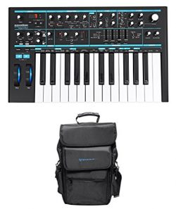 Novation BASS STATION II 25-Key Monophonic USB Keyboard Synthesizer+Carry Bag