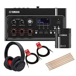 Yamaha EAD10 Electronic Acoustic Drum Module Bundled with 1 x Bluetooth Noise Cancelling Headpho ...