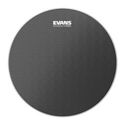 Evans Hybrid Grey Marching Snare Drum Head, 13 Inch