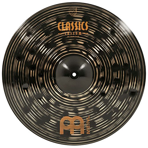 Meinl 20″ Crash Cymbal – Classics Custom Dark – Made in Germany, 2-YEAR WARRAN ...