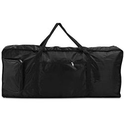 LIHEXING 61 Key Keyboard Gig Bag, Portable Electric Piano Keyboard Case with Backpack Straps(39  ...