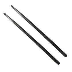 Nylon Drumsticks for Drum Set 5A Light Durable Plastic Exercise ANTI-SLIP Handles Drum Sticks fo ...