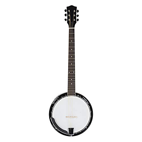 6 String Banjo 24 Bracket with Closed Solid Back and Geared , Include Allen Wrench, Screwdriver  ...